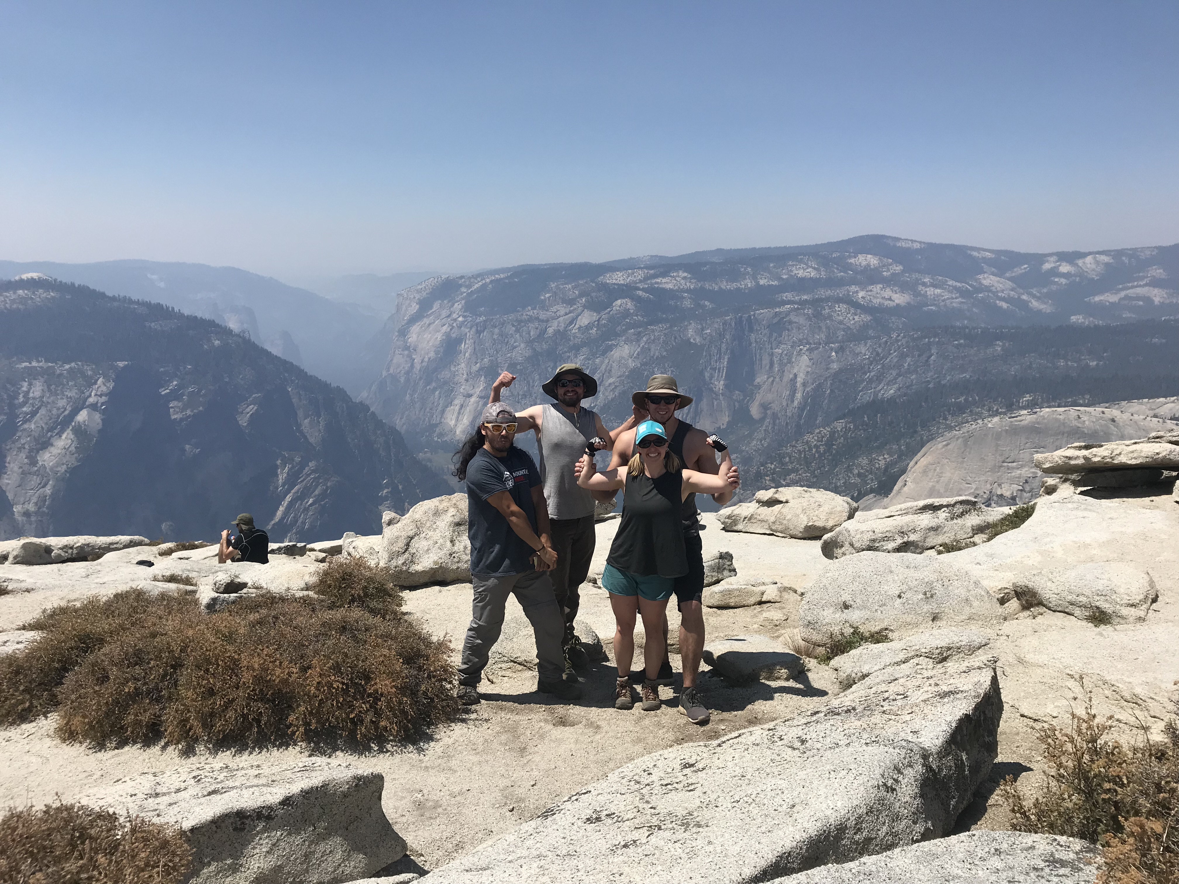 Half Dome Summit