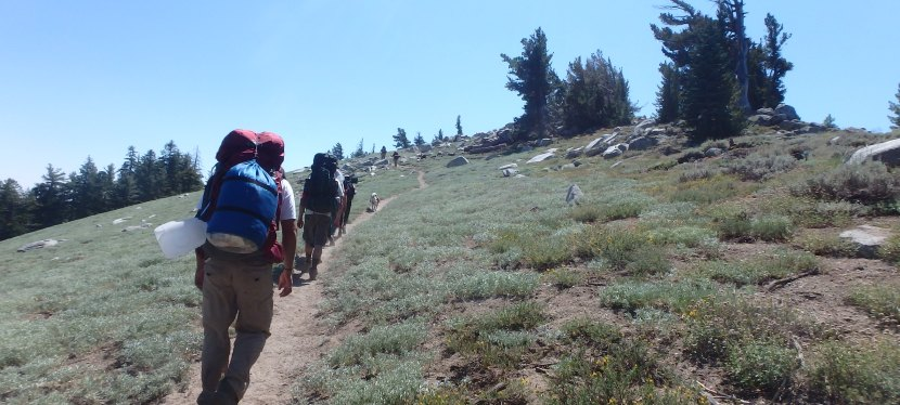 Backpacking the Tahoe Rim Trail